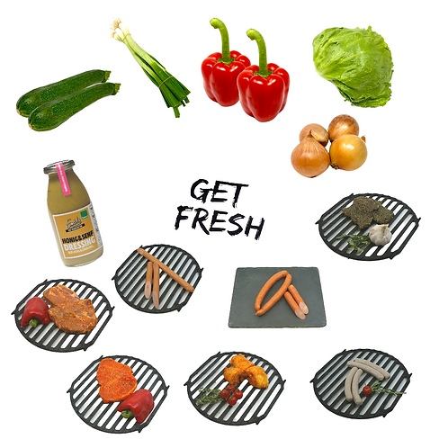 Grill Box All in One
