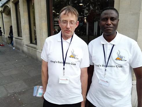King's Business Club evangelists