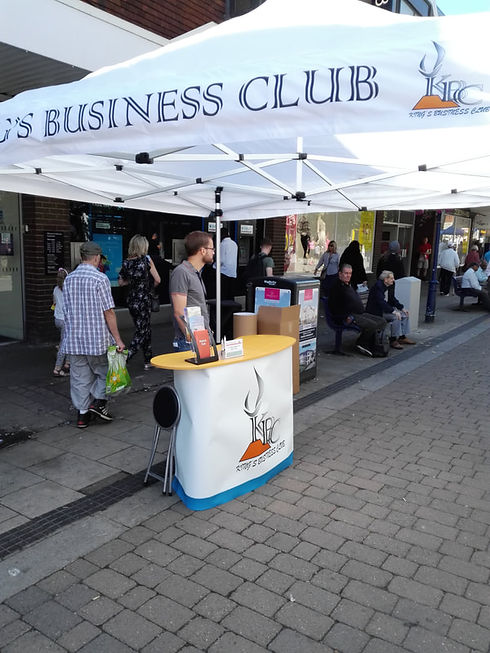 KBC outreach programme, information booth