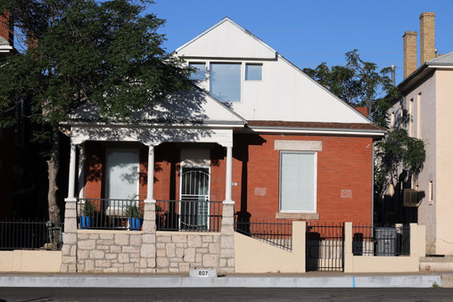 Our new and cozy home at 807 N. Virgina St.