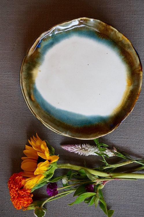 Oyster Edge Dessert Plates (set of 2)