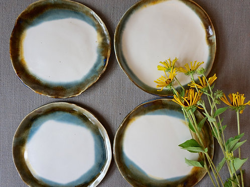 Oyster Edge Dinner Plates (set of 4)