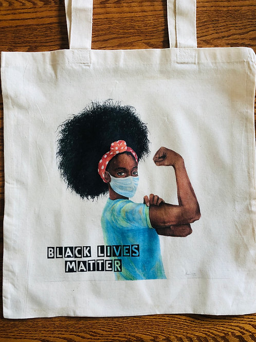 """""""Show Up"""" BLM Rosie Tote"""