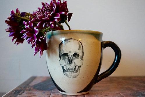 Deep Sea Skull Mugs (set of two)