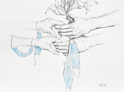 "Resilience 11x14"" Giclee Print"