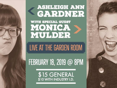 February 18, 2019 - Live from the Garden Room