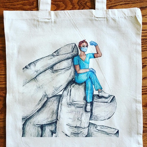 """Uplifting Others"" Rosie Healthcare Tote"