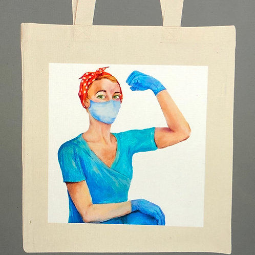 """Have Strength"" Rosie Healthcare Tote"