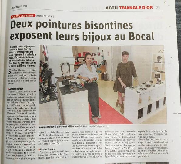 Le Bocal 2019
