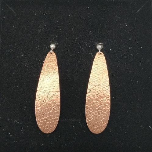 Boucles d'oreilles Gouttes Cuivre