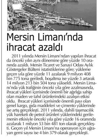 refleks_mersin_limanında_ihracat_azaldı.