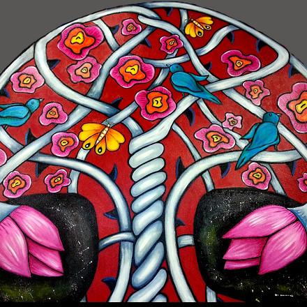 Through Rose Colored Lenses ~ Detail