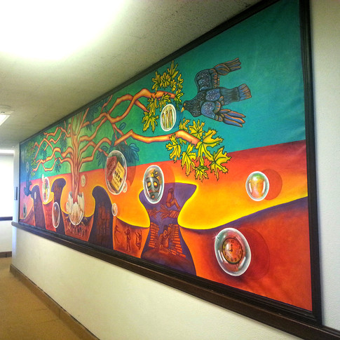 Educational Empowerment Mural         6' x 20'