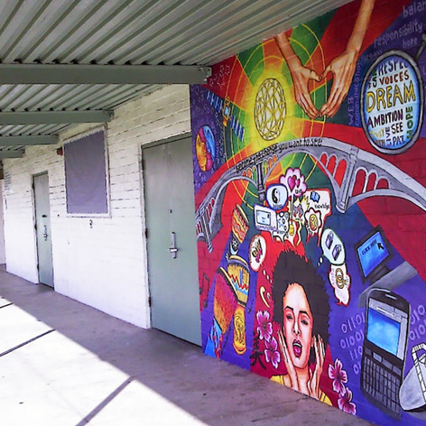 Wall of Communication  9' x 12'