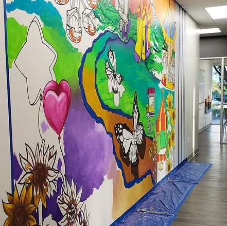 Inner-City Arts Mural 10' x 20'