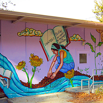Planting the Seeds of Knowledge  14' x 60'