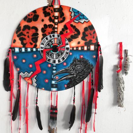Raven Medicine Shield