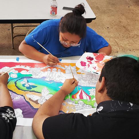 Inner-City Arts Mural Team