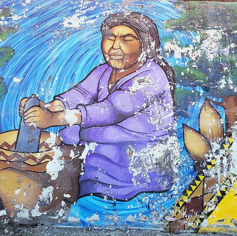 Southwest Museum Mural Restoration  8' x 170'