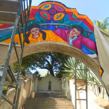 Haramokngna Mural 30' x 80'