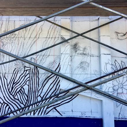 Generational Continuity Mural 12' x 32'