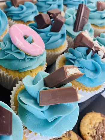 Bespoke NHS Cupcakes.