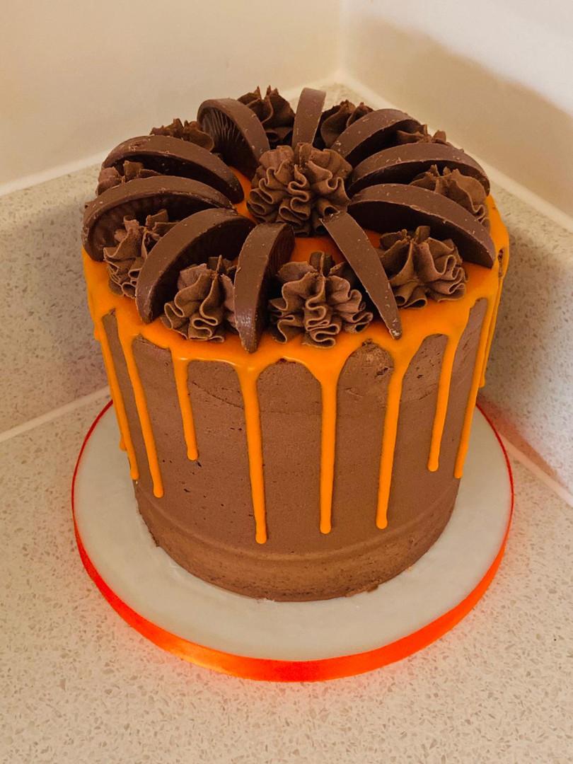 Terrys Chocolate Orange Drippy Cake