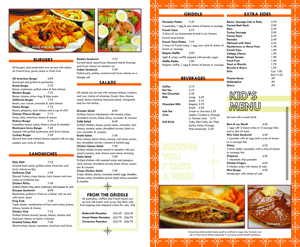 Nicki's Omelette & Grill - Pages 3&4