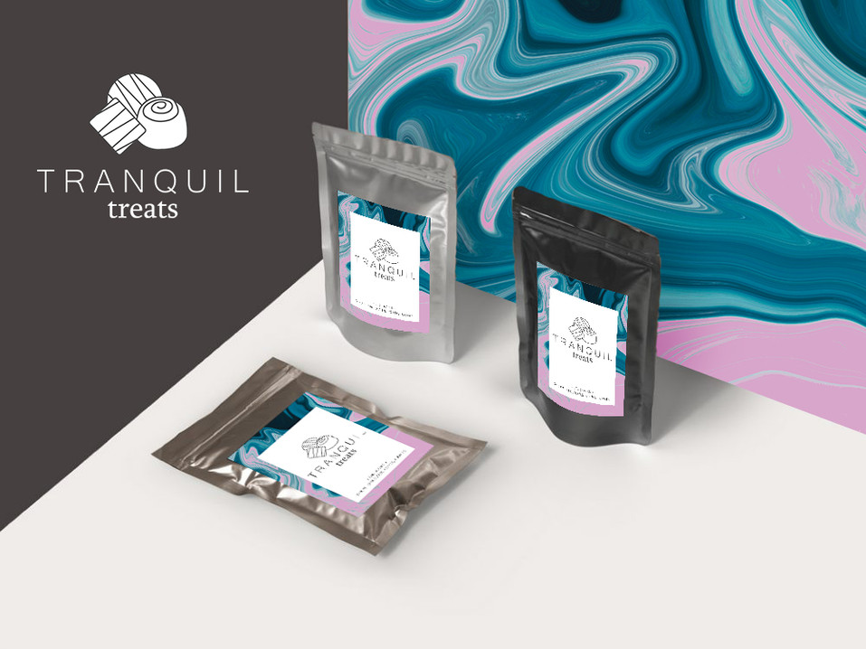 Tranquil Treats | Packaging Design