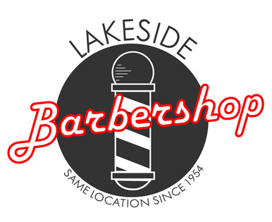 Lakeside Barbershop   Logo (Full Color)