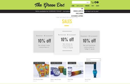 The Green Dot | Web Design