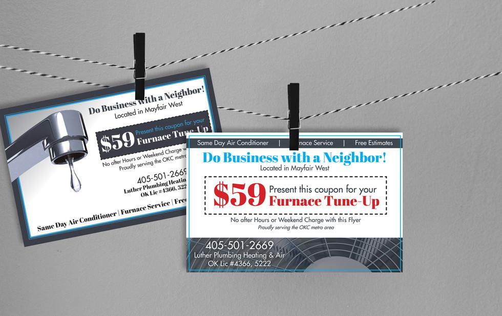 Luther HVAC | Marketing Materials