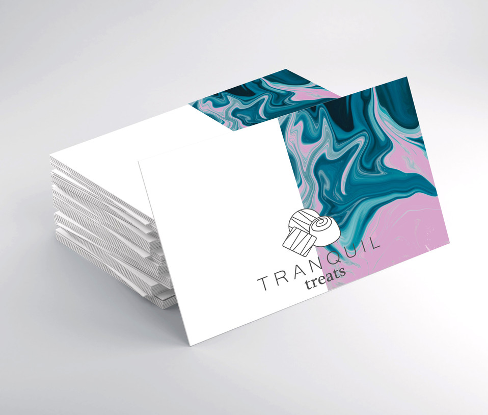 Tranquil Treats | Business Cards