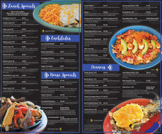 Temazcal Menu Spread