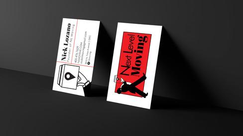 Next Level Moving Business Card Design (Front & Back)