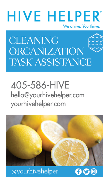 Hive Helper | Business Cards (Front)