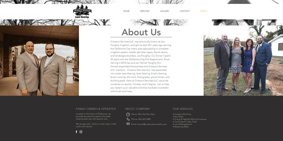 Crosscut Services | Web Design
