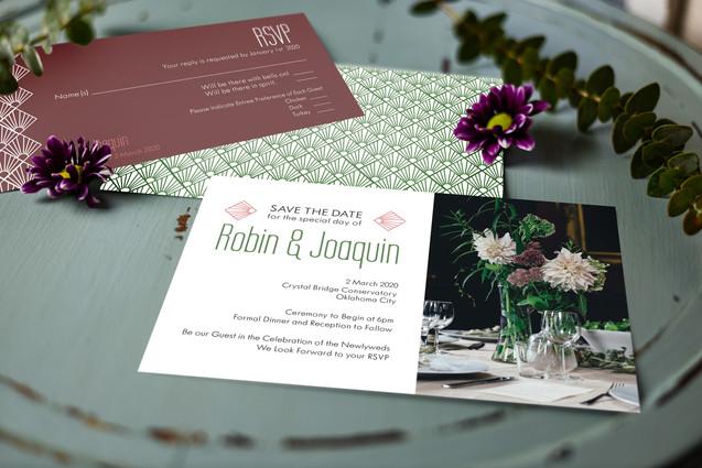 Robin & Joaquin - RSVP & Invitations