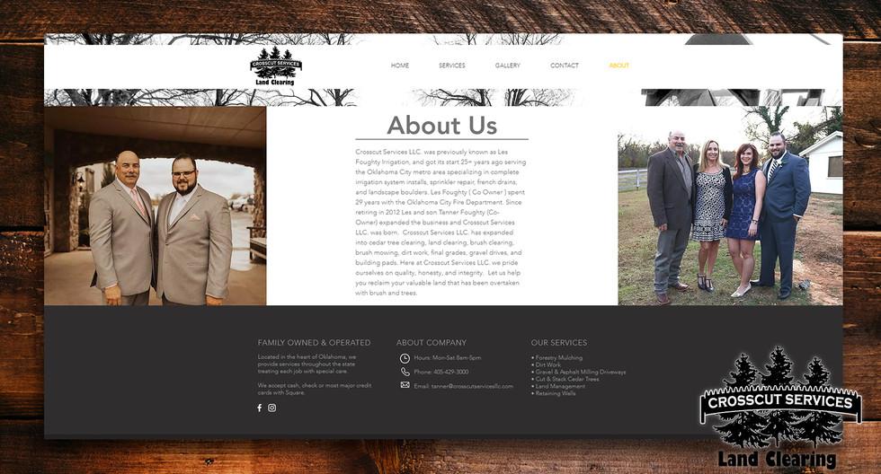 Lakeside Barbershop | Web Design