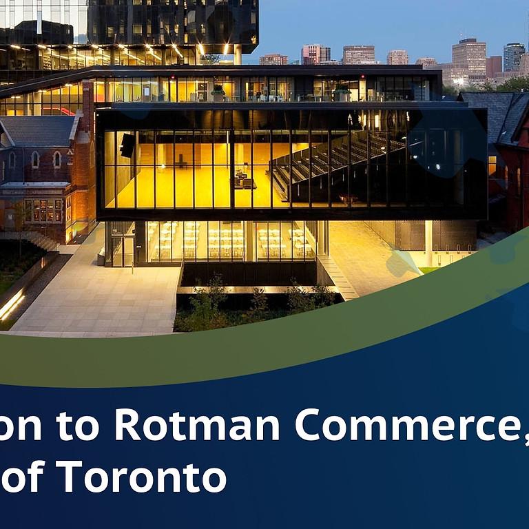 Meet Sabina: Introduction to Rotman Commerce, University of Toronto