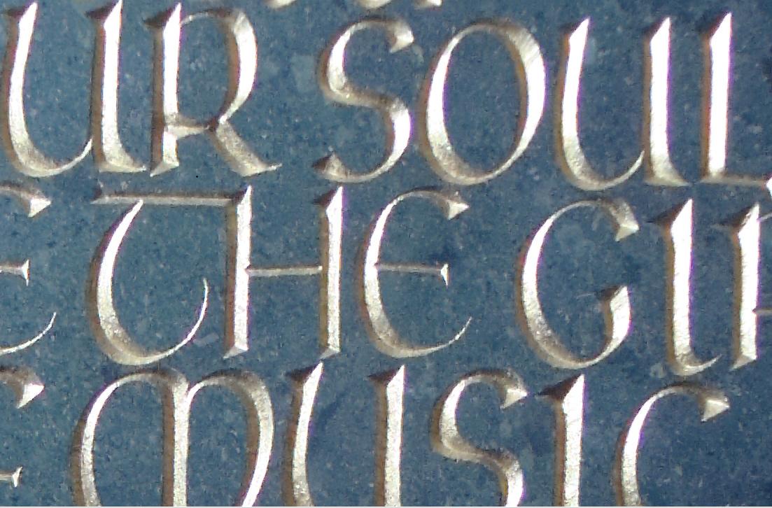 Bespoke lettering