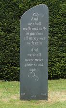Bespoke garden monument