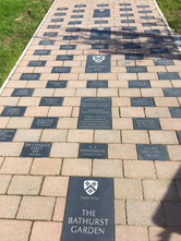 Engraved paving stones