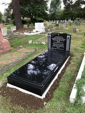 Granite kerb memorial