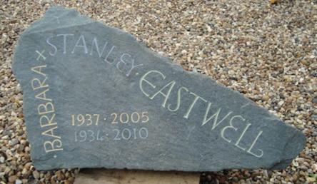 Bespoke lettering memorial