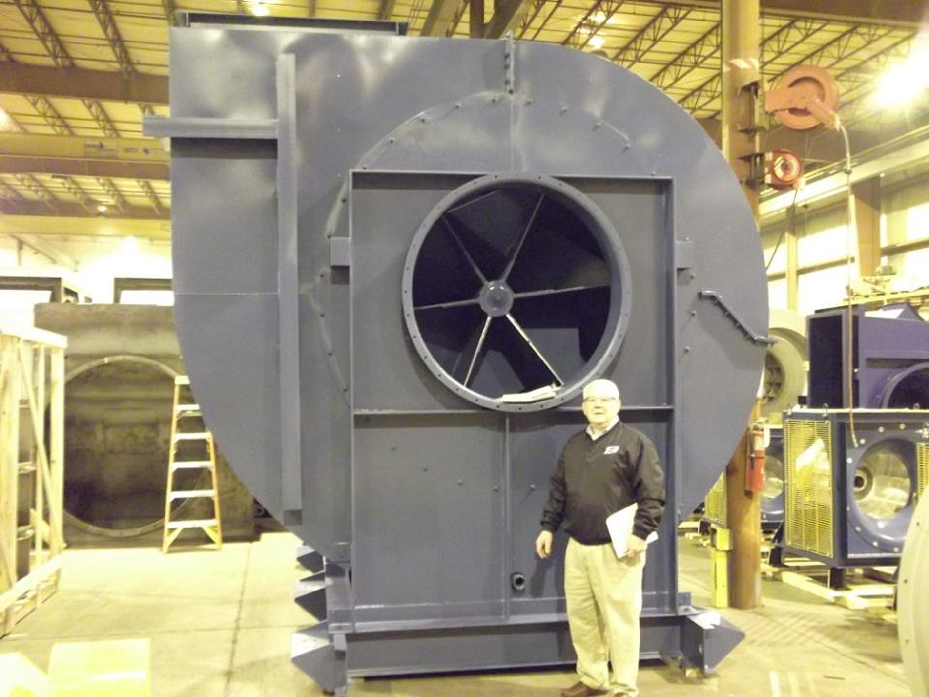 Dust Control Fans : Brunnairsystems