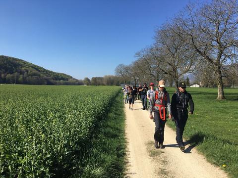 9ème marche - Sur les traces de Rousseau