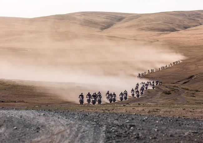 BMW Motorrad GS Trophy Mongolia 2018
