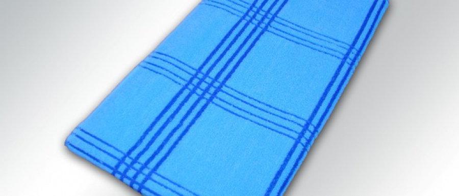 Полотенце однотонное и с геометрическим рисунком