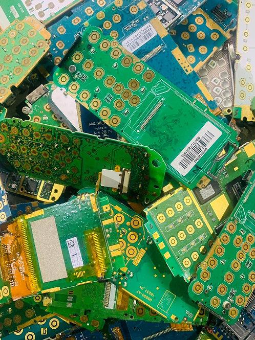 Платы мобильных кнопочных телефонов